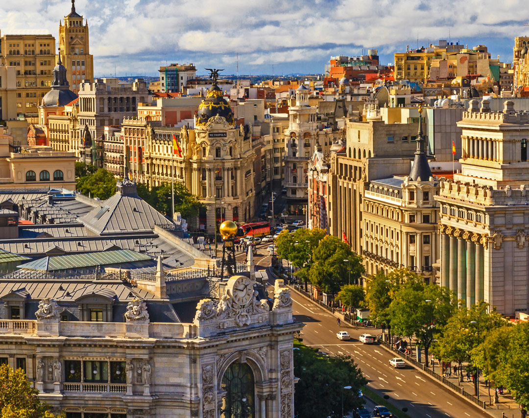 Cheap Flights from Barcelona, Spain to Madrid